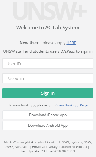 NMR - Registration and Courses - Software Installation | UNSW Mark